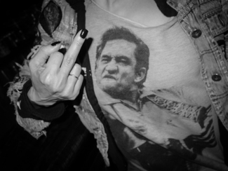 Homage to Johnny Cash and Jim Marshall