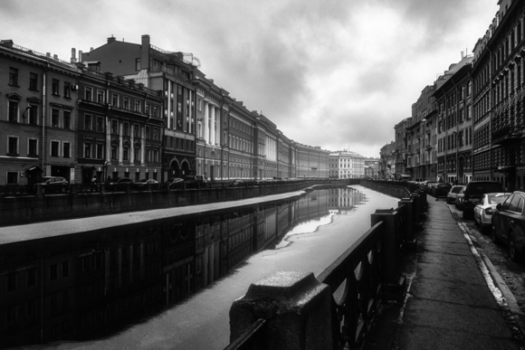 Saint-Petersburg. Moyka river