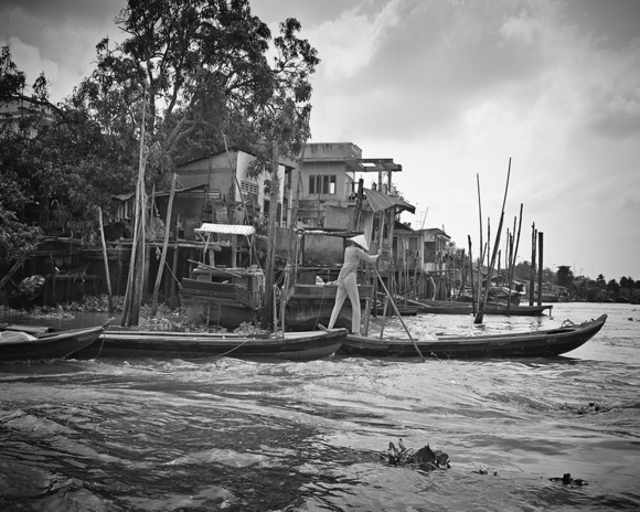 Woman versus the Mekong