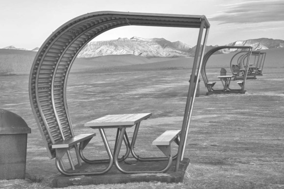 White Sands Picnic Booths