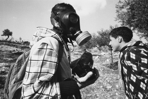 Bil'in young palestinian photographer