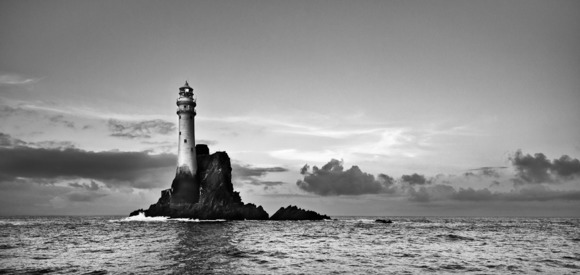 A Summer's Evening, the Fastnet Lighthouse