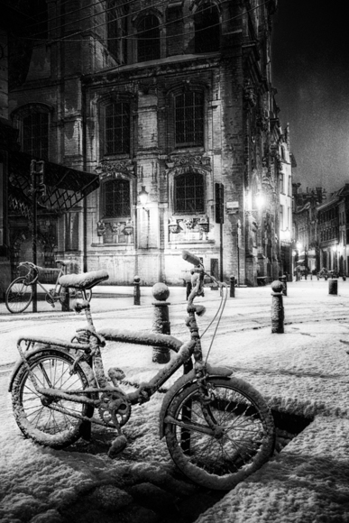Brussels in Winter
