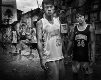 Boys from Navotas cemetery 6
