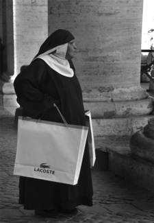 Nun at the Vatican