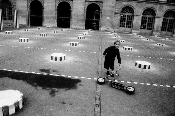 boy at Palais Royal yard