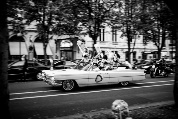 Top Down in Paris