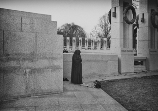 Woman with Burka Washington DC