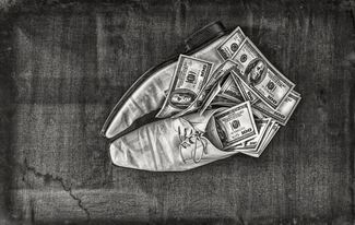 Shoes & dollars