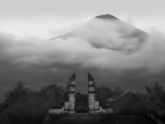 Temple View, Mt. Agung, Bali, 2010