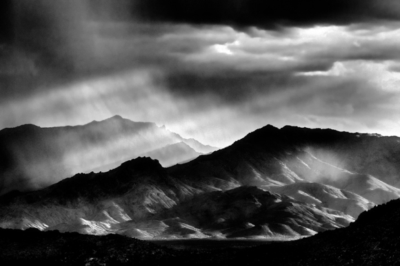 Storm over the Mojave