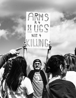 Arms Protest