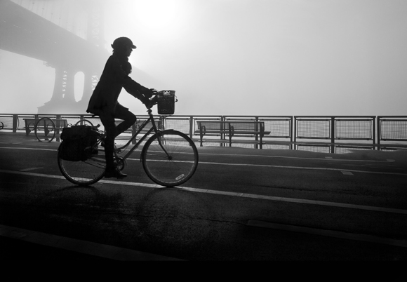 Foggy Morning Bike Ride