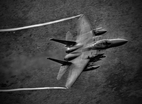 F15 in Wales