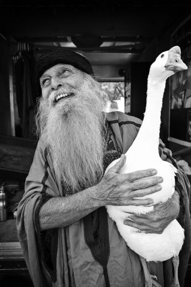 Oma: The Man with the Swan