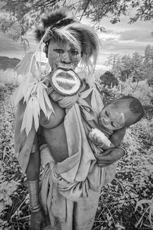 Suri Mother and Child