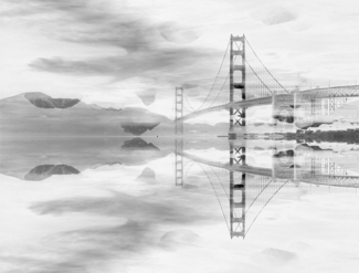 Golden Gate Reflections