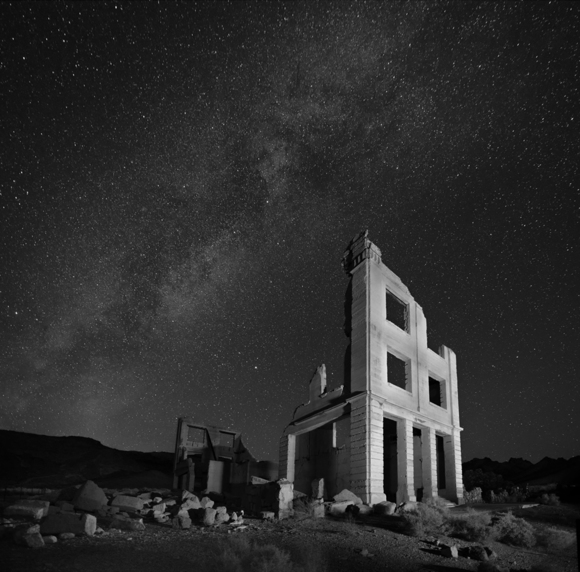 Rhyolite Milkyway Nevada