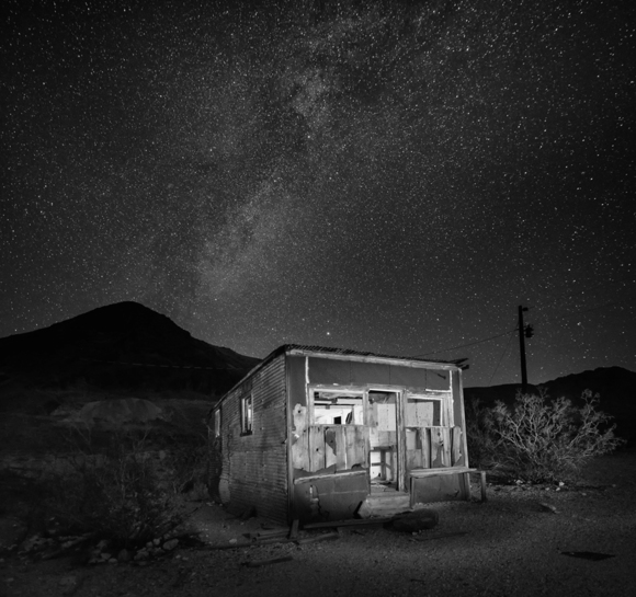 Miners Shack under The MilkyWay