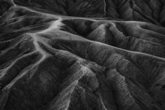 Badland Formations, Zabriskie Point, NV