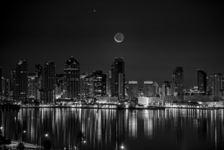 Moonlight San Diego Bay