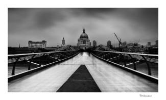 St Paul's and Millennium Bridge