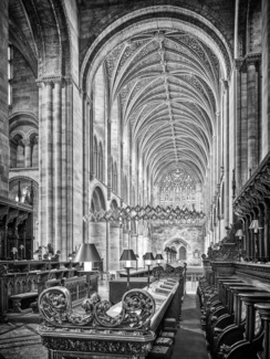 Hereford, The Quire and Nave