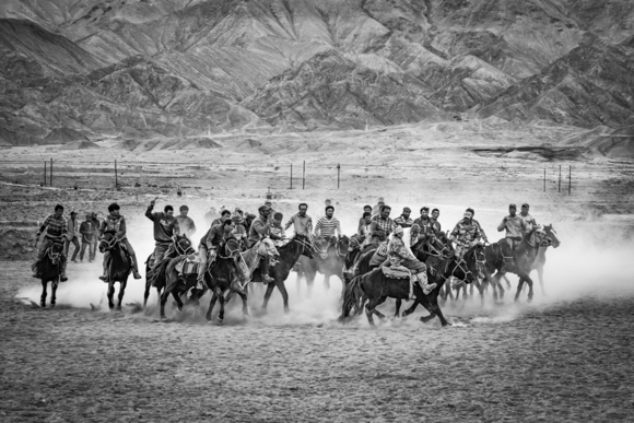 Tajiks Playing Buzkashi