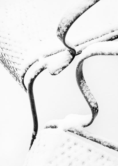 Snow Covered Seat