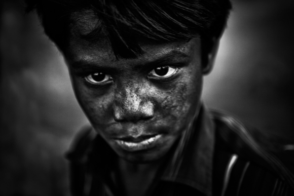 Young Indian miner