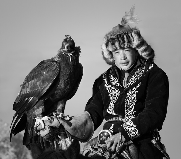 Mongolian Eagle Hunter