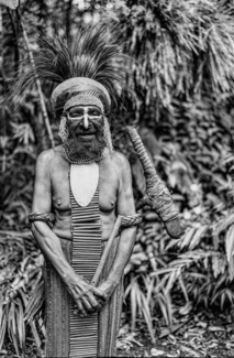 Chief Terima, Paiya Village, Papua New Guinea