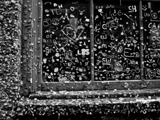 Gum Wall Window