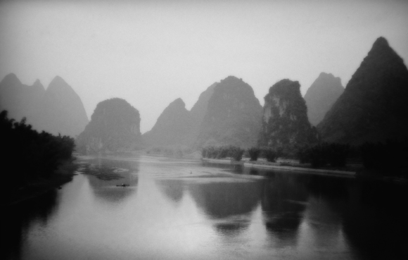River and Mountains, Guilin, China