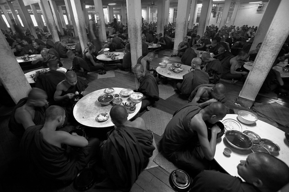 Monks at Lunch