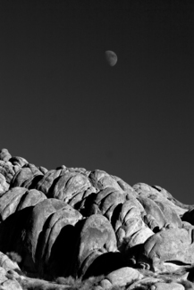 Alabama Hills Moonrise