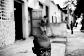 The child from Cuba