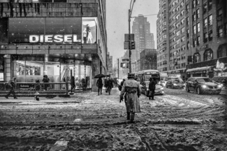 Snow Storm in Manhattan