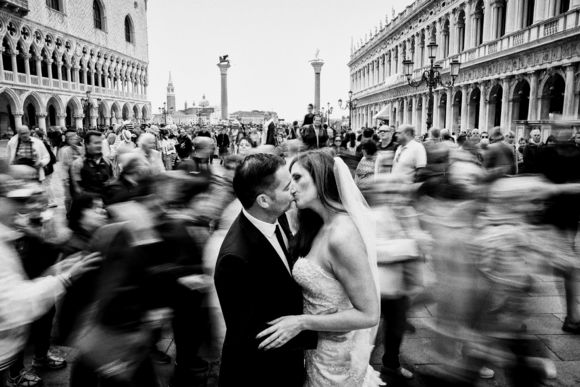 Wedding portraits in Venice