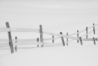 Crossing Fences , Jackson, New Hampshire, USA