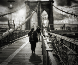 The Folks You Meet on the Brooklyn Bridge