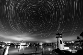 Discovery Bay Star Trails