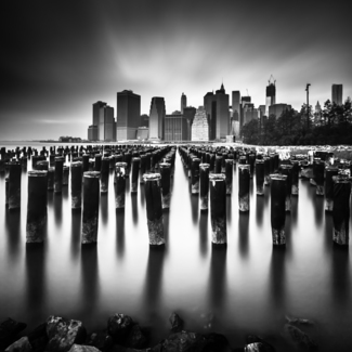 Pilings To Manhattan