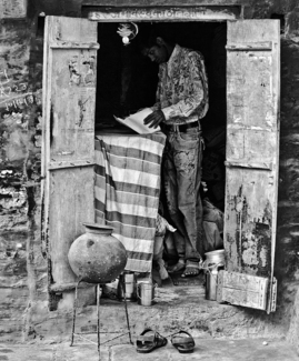 Man In Doorway