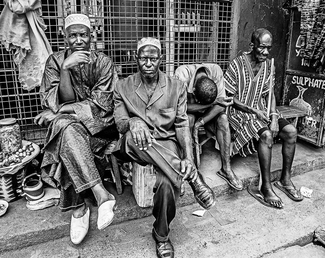 Freetown Elders, Sierra Leone