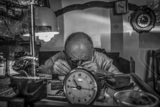 The Watch Maker. Kutaisi, Georgia