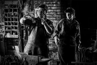 In the Role of Ancient Blacksmiths